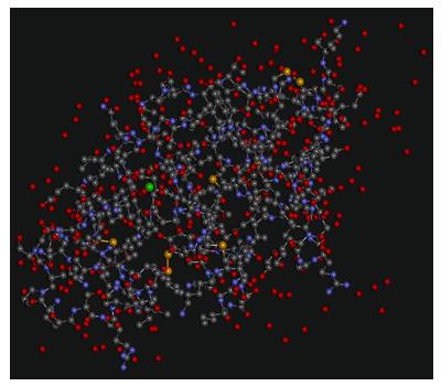 Modelo tridimensional lactoalbúmina
