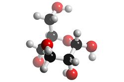 Molécula de glucosa (C6H12O6)