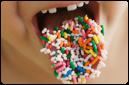 Los puntos de detección del sabor dulce estan principalmente en la punta de lalengua