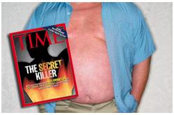 que la obesidad está asociada con inflamación crónica de bajo grado
