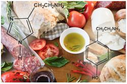 Las aminas biogénicas son factores antinutricionales de preocupación en salud pública